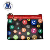 Subway Logo Robin Ruth Flat Coin Purse