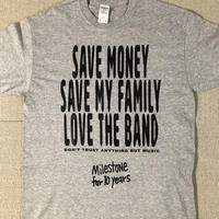 """SAVE & LOVE"" Tシャツ"