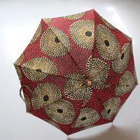 bonbonstore アフリカンバティック長傘(日傘)BON-21014 NO:11