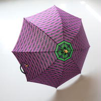 bonbonstore アフリカンバティック長傘(日傘)BON-21015 NO:5