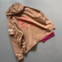 THOMAS MAGPIE sweat parka   logo【2211802】