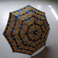 bonbonstore アフリカンバティック長傘(日傘)BON-21014 NO:12
