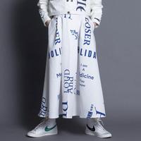 THOMAS MAGPIE トーマスマグパイ logo skirt【2213601】