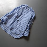 SINME シンメ スタンドカラーシャツ  HF08-1 ベージュ