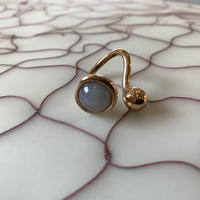 MONICA CASTIGLIONI MR17194 PISTILLI02 with Graymoonstone/Bronze