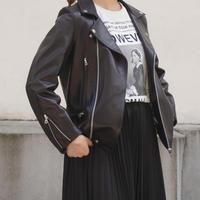 THOMASMAGPIE トーマスマグパイ logo rider's jacket 【2213501】
