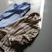 SINME シンメ ストライプオーバーシャツ(for MEN) HF10-1/HF10-2