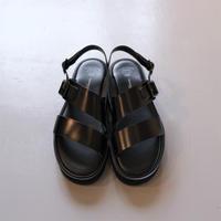 """BEAUTIFUL SHOSE SS belt sandals """"GLOXI CUT THICK SOLE"""" BSS2112004"""