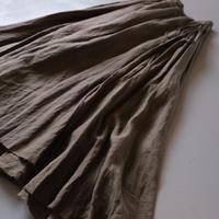 suzuki takayuki     long skirt Ⅰ    khaki