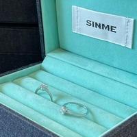 SINME  DIAMOND  スクエアリング D-6