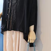 suzuki takayuki  over blouse  S211-15      black