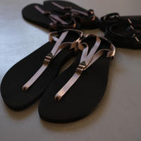 """BEAUTIFUL SHOSE  barefoot sandals """"THICK SOLE"""" BSS1812006  GRAY"""