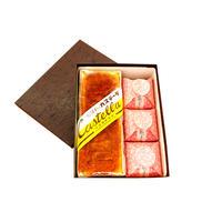 歌子セット(小) 名物カステーラ・栗きんとんのお菓子「歌子の里」×3個セット