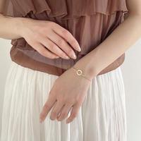 (264)crystal circle bracelet
