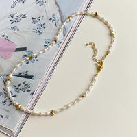 (397)lovely fresh water pearl necklace 【淡水パール】
