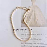 (244) mix fresh water pearl necklace 【淡水パール】