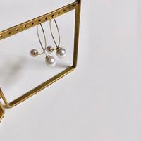 (158)wire pearl pierce
