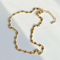(72)heart choker necklace