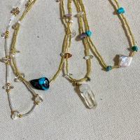 ハンドメイド天然石ネックレス