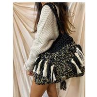 ハンドメイド 手編みバッグ