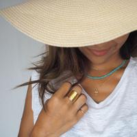 ハンドメイド 真鍮ring