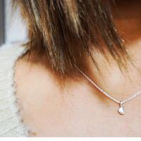silver925月デザインネックレス