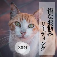 俗なお悩みリーディング(30分)