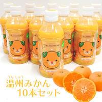 温州みかん果汁100%ジュース(あらしぼり)10本セット