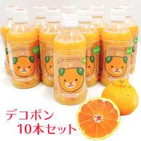 デコポン果汁100%ジュース(あらしぼり)10本セット