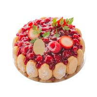 ラトリエ店にてお受取り 予約ケーキ       アントルメ シャルロットフリュイルージュ 12cm