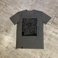 "ANSWER4『""Running Sucks! 02""Tshirt』(Gray)"