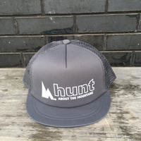 huntstored『OG LOGO』FLAT SHORT MESH CAP