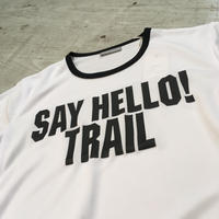 MMA『 Say Hello Trim Tee』(ホワイト)