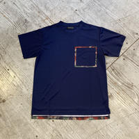 MMA 『Camo Dry Pocket Tee』 (Navy)