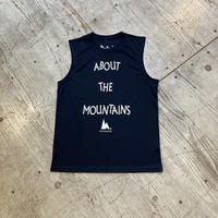huntstored『ACTIVE sleeveless/ABOUT THE MOUNTAINS』 (ネイビー 2021ver)