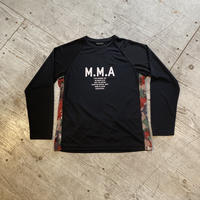 MMA 『Alpen Camo Back Pocket Long Sleeve Tee』 (Black)
