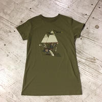 Teton Bros.『Womens 10th Anniversary Tee』(Green)