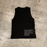 MMA『 Racing Sleeveless 』(Black)