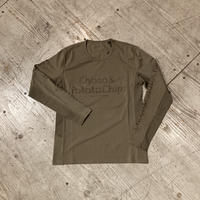 MMA 『Choco&Potatochips Long Sleeve Tee』 (Coyote)