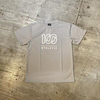 ONEHUNDRED ATHLETIC『100A S/S GRAPHIC TOP *Type-B*』(ライトグレー)