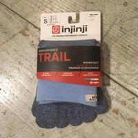 injinji『TRAIL MIDWEIGHT MINI-CREW』(パウダーブルー)