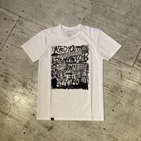 "ANSWER4『""Running Sucks! 02""Tshirt』(White)"