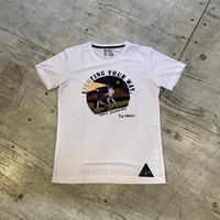 milestone『MST-003 milestone original T-shirts』(WHITE)