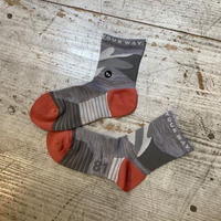 milestone『milestone original Socks』(アッシュグレー)
