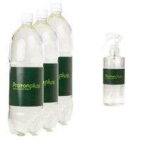 プロトンプラス PETボトル(1500ml)詰替え用×3本セット+スプレーボトル(200ml)