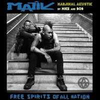 MAJIK (MARJINAL Akustik) - FREE SPIRITS OFF ALL NATION(CD/DVD) [2015]