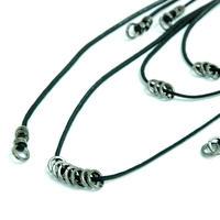 Coating Cord Random Necklace