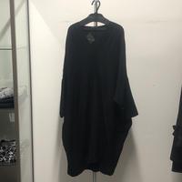 【Sample】ビッグプルオーバーシャツ/ブラック