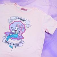 マーメイドTシャツ(ピンク)/ Mermaid T-shirt(Pink)
