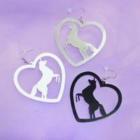 ユニコーンピアス/ Unicorn Earrings